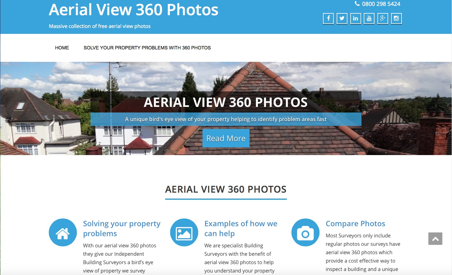Website Brief - aerialview360photo.com
