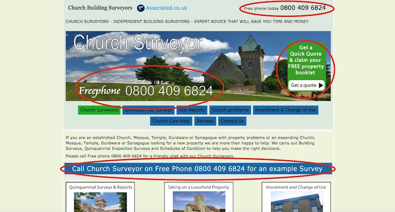 ChurchSurveyor.co.uk - Call to Action