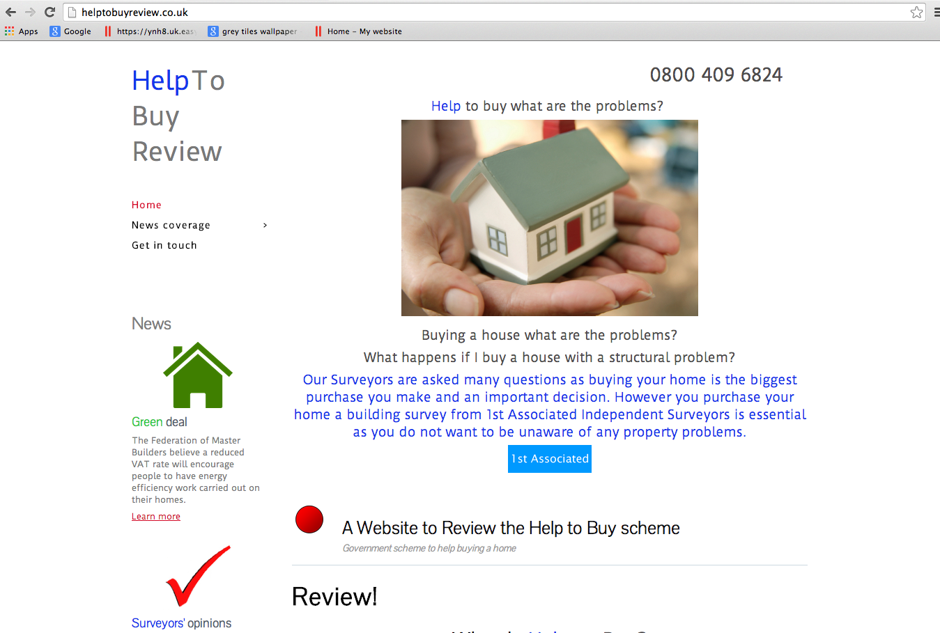 Take a Look at HelpToBuyReview.co.uk