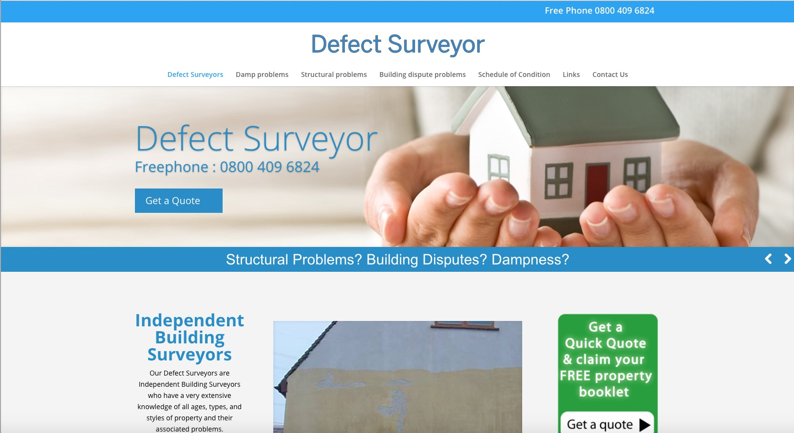 Website Brief - DefectSurveyor.co.uk