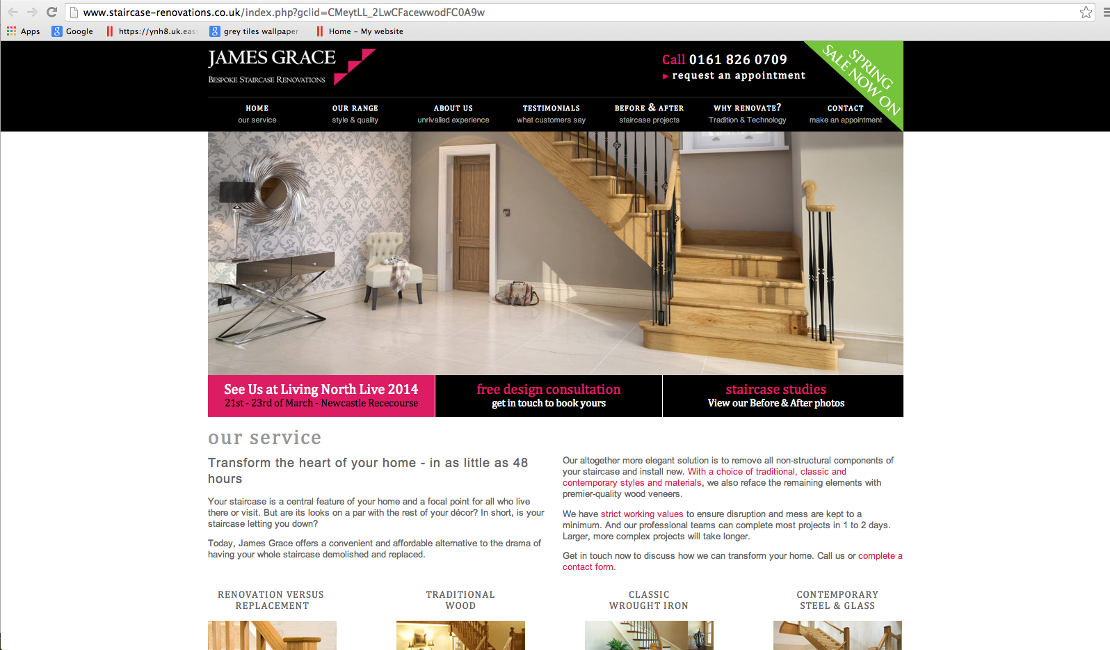 Staircase Renovations Website Review