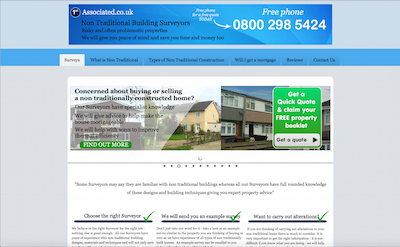 Website Brief -  Take a Look on NonTraditionalBuildingSurveys.com