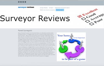Surveyorreview.co.uk - Panel Surveyors
