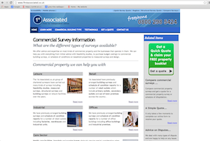 Website Brief -  Take a look at FirstAssociated.co.uk