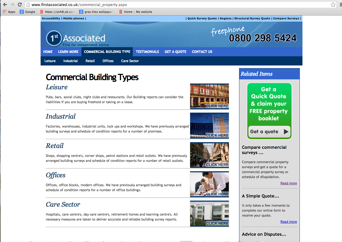 Firstassociated.co.uk - Commercial Property